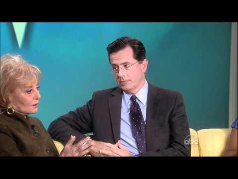 Stephen Colbert Walks Off The View.flv
