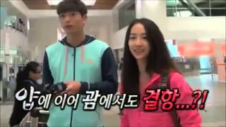 dasom and jinwoon cut  law of the jungle