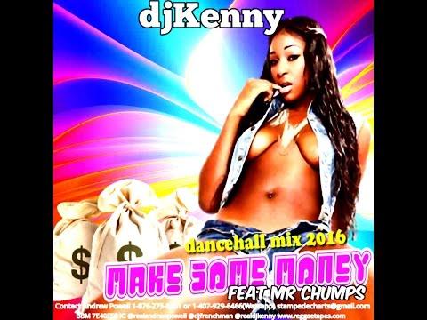 watch DJ KENNY MAKE SOME MONEY DANCEHALL MIX APR 2016