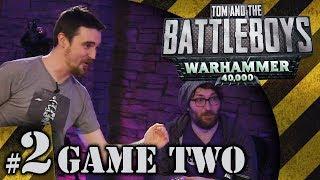 BATTLEBOYS - Warhammer 40K - Dark Angels vs Dark Eldar #2