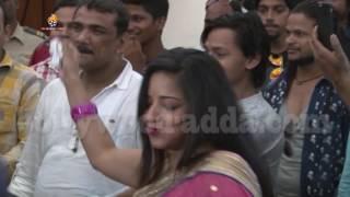 Super Star Pawan Singh His Crying At Pawan Raja Movie MUHURAT | Bollywood Adda