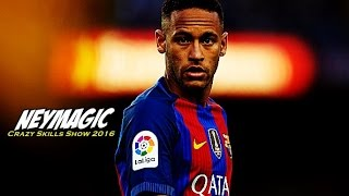 Neymar Jr ● Neymagic ● Crazy Skills Show 2016/2017 HD