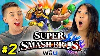 SUPER SMASH BROS. Wii U #2 (REACT: Gaming)