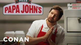 Papa John's Has A New Crust For The First Time In 40 Years - CONAN on TBS