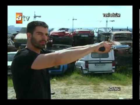 Adanali Maraz ali Silah Show Yapiyor.