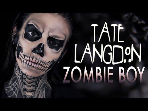 TATE LANGDON AHS/ZOMBIE BOY - Makeup Tutorial