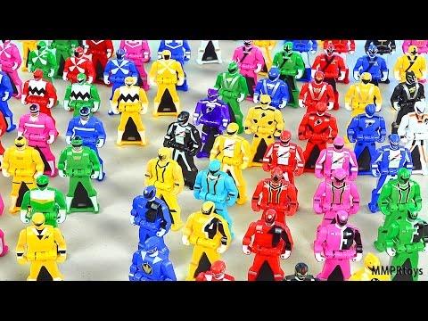 Power Rangers 2016 Ranger Keys Review! (Super Megaforce Gokaiger)