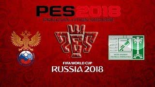 Russia vs Saudi Arabia Russia World Cup championship Gameplay PES 2018 HD