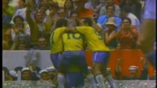 brasil Campeon Mundial de futbol Mexico 70