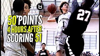 LaMelo Ball BACK TO BACK 50 Point Game!! But Was It Enough? Melo Tries To POSTER Defender Lol!