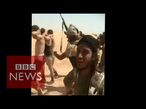 Syria conflict Islamic State militants kill Syrian soldiers BBC News