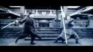 Hero Jet Li vs. Donnie Yen Fight Scene 2002