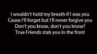 Bring Me The Horizon - True Friends (Lyrics)