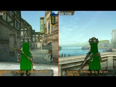 [ Toram online ] localização de 1 arco, e 1 crossbow, [Hard Wood Bow] [Sword Bowgun]