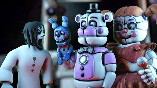 How To Make SLENDRINA GRANNY NOT SCARY FEAT BABY AND FUNTIME FREDDY IN SISTER LOCATION