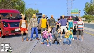 GTA 5 REAL LIFE MOD #264 EPIC FAMILY ROAD TRIP #2