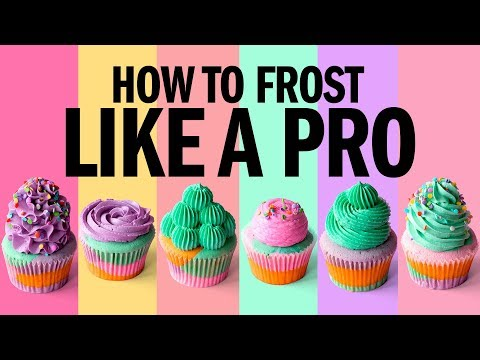 How to FROST cupcakes LIKE A PRO The Scran Line