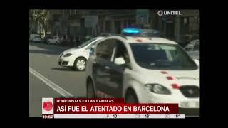 España: Así fue el atentado que dejó 13 muertos en Las Ramblas en Barcelona