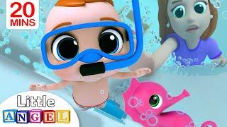 Bath Song   Baby's Bath Time   Little Angel Nursery Rhymes & Kids Songs