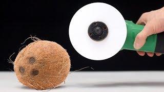 EXPERIMENT: PAPER BLADE vs COCONUT