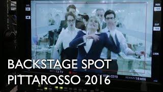 Backstage Spot PittaRosso 2016 con Simona Ventura e Fausto Brizzi