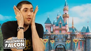 Disney Rides That Should Get Their Own Movie (w/ Max Landis)!!! - Millennial Falcon