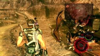 Resident Evil 5 All Boss Fights on Veteran