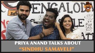 Priya Anand Talks About Sindhu Samaveli   Settai Sandhai with Kootathil Oruthan Team   Smile Settai