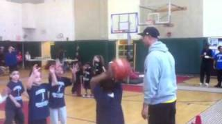 Rasheen at Saturday Hoopsters Part 1