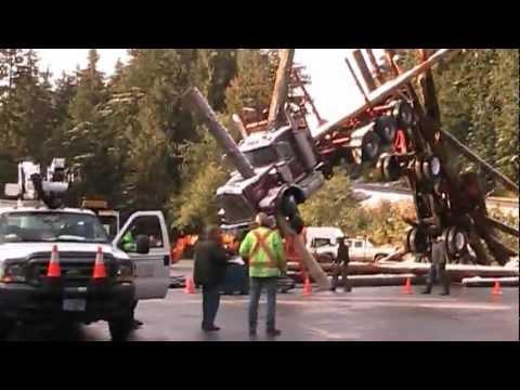 Man of Steel Incredible Logging Truck Set Behind the Scenes