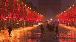 Champs-Elysees traffic resumes after