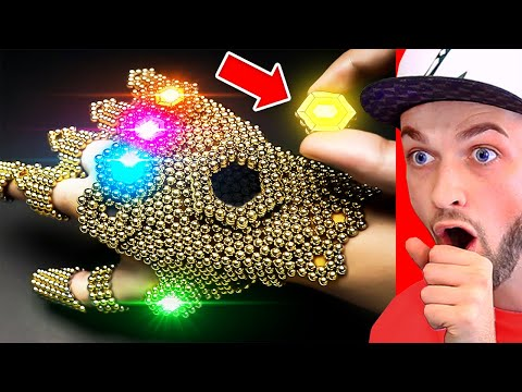 World s BEST MAGNETIC BALL Creations Satisfying ASMR