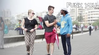 Showing People My Private Monster Prank - Funk You (Pranks In India)