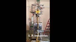 Half Pneumatic FFS Packing machine for Masala / spice powder