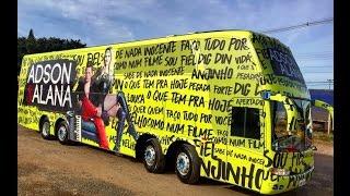 Novo Ônibus da dupla Adson e Alana