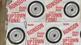 Uptown Funk (clean lyrics) by Mark Ronson featuring Bruno Mars