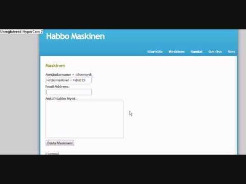 1000 Gratis Habbomynt på 30 sekunder Habbomaskinen