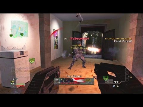 Modern Warfare 3 Camper's Search and Destroy 2 (P90 n Thoughts)