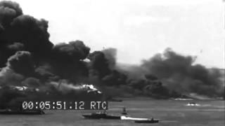 1944 West Loch Disaster: Scenes Of Burning LSTs, Pearl Harbor (full)