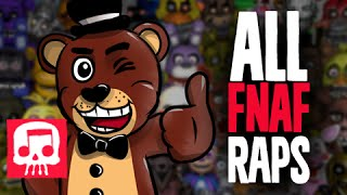 All Five Nights at Freddy's Raps (1-4 & World) by JT Machinima [Updated]