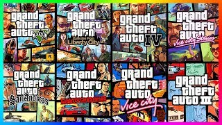TOP 15 Grand Theft Auto Games Ranked BEST TO WORST!