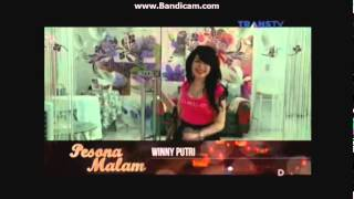 Winny Putri Pesona Malam Trans TV Tanggal 11 April 2015 😘😘