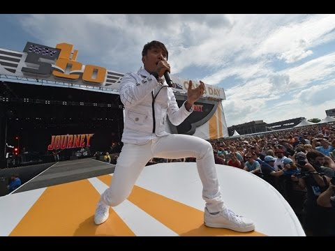 Journey Open Arms LIVE CONCERT HD at INDY 500 Carb Day 2016 100th RUNNING HD sound Quality