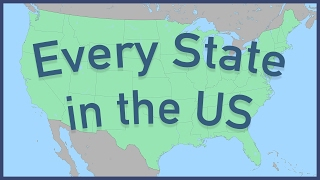 Every State in the US