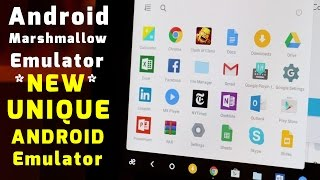 Android Marshmallow 6.0.1 Emulator For Windows 10 | Unique Android Emulator