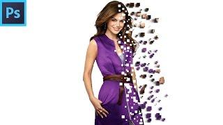 Pixel Explosion Effect # Photoshop Tutorial