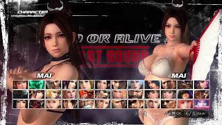 DEAD OR ALIVE 5 Last Round (Pack MOD DOA5LR) Mai Lingerie, Partial Nude Costume!
