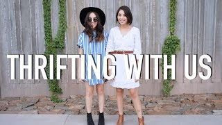 Thrifting with Us | Style Challenge