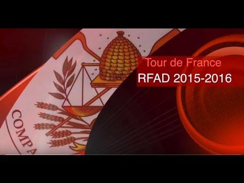 Tour de France des compagnons RFAD 2014-15
