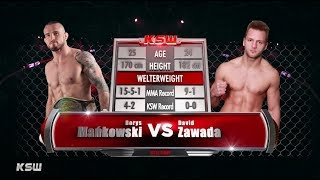 KSW Free Fight: Borys Mańkowski vs. David Zawada